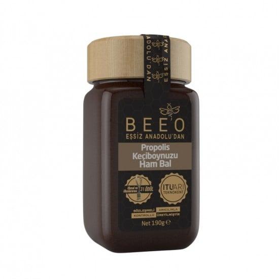 Beeo - Carob + Raw Honey + Propolis, 6.7oz - 190g