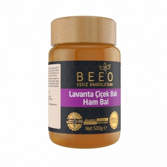 Beeo - Lavender Honey (Raw Honey), 17.6oz - 500g