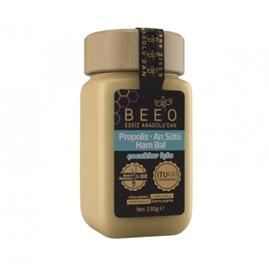 Beeo - Propolis + Royal Jelly + Raw Honey (For Kids), 6.7oz - 190g