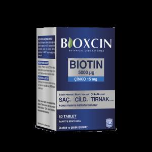 Bioxcin - Biotin Tablet 5000mcg, 60 Tablet