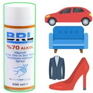 BRL Disinfectant with %70 Alcohol
