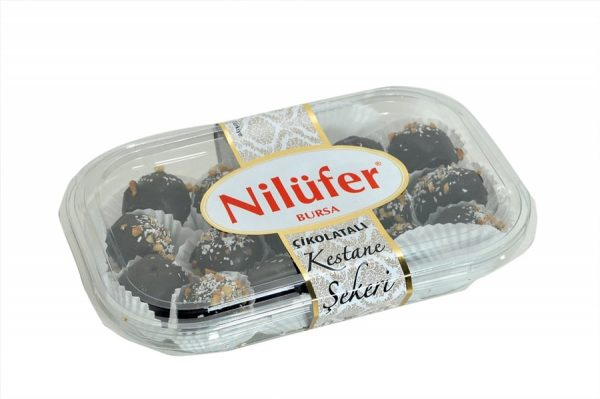 Nilufer - Chocolate Balls with Chestnuts