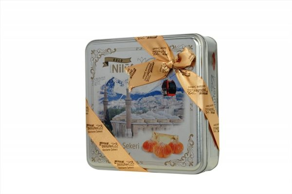 Nilufer - Candied Chestnuts in Tin Box