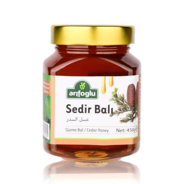 Cedar Honey, 15.87oz - 450g