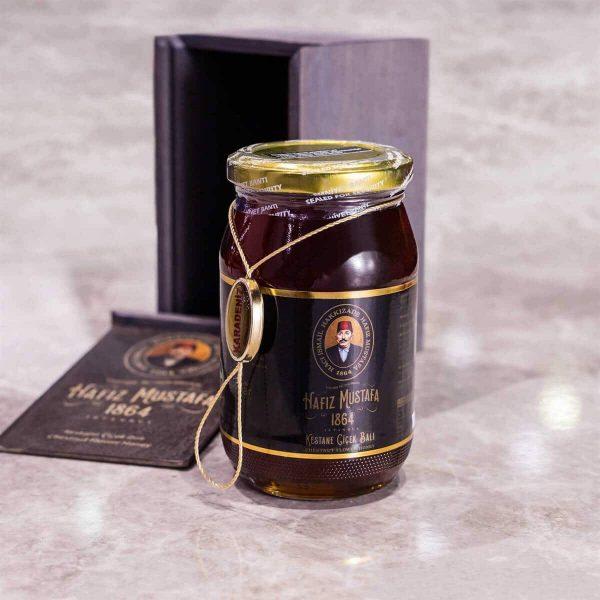 Hafiz Mustafa - Organic Chestnut Honey, 17.63oz - 500g