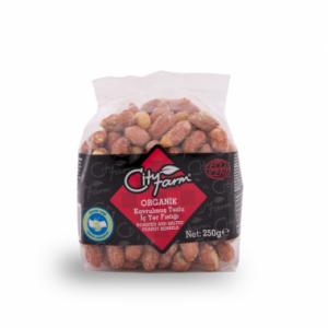 CityFarm Organic Roasted Peanuts with Salt, 7.05oz - 200g