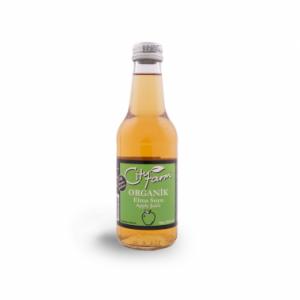 CityFarm Organic Apple Juice in Glass Bottle, 8.45oz - 250 ml
