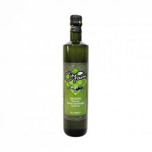 CityFarm Organic Extra Virgin Olive Oil, 25.36oz - 750 ml