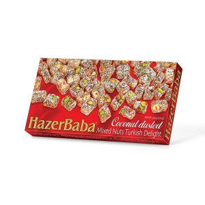 Hazer Baba - Mixed Turkish Delight with Coconut Dusted
