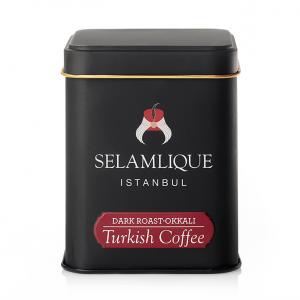 Selamlique Dark Roast Turkish Coffee Box, 4.41oz - 125g