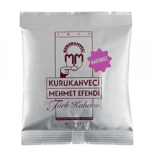 Caffeine Free Turkish Coffee by Mehmet Efendi, 1.76oz - 50g