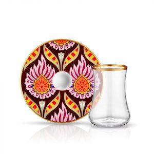 Candelas Tea Glass Set (12 Pcs)