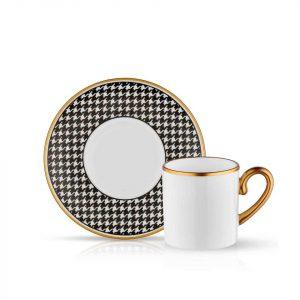 Eva Black - Coffee Set of 6 Cup (12 Pcs)