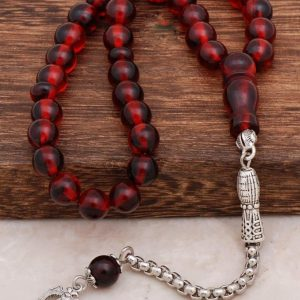 Fragrant Fossil Amber Rosary 273