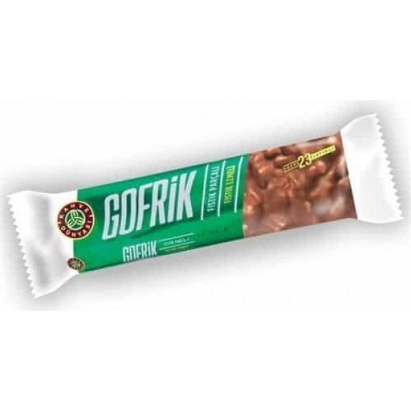 1 Box of Gofrik Milk Chocolate with Pistachio