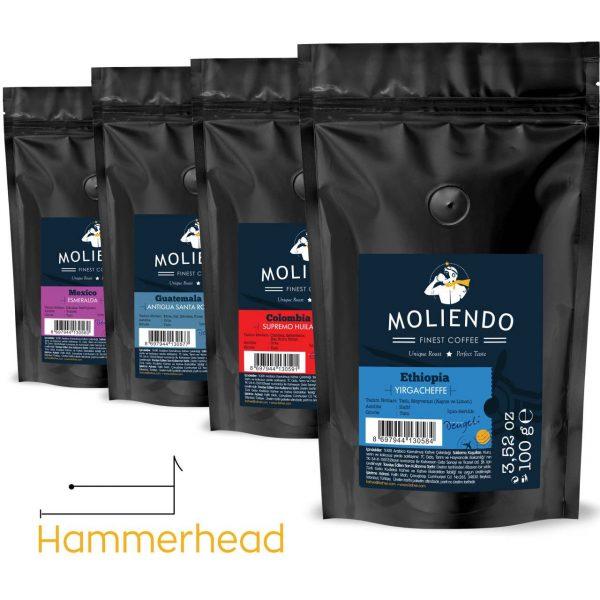 Hammerhead Variant Coffee Pack 4 x 100g (3.52oz)