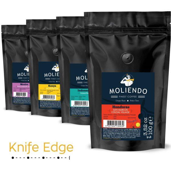 Knife Edge Variant Coffee Pack 4 x 100g (3.52oz)