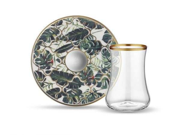 Amazon Tea Glass Set (12 Pcs)