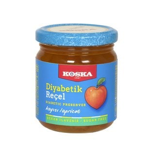 Koska Diabetic Apricot Jam, 8.46oz - 240g