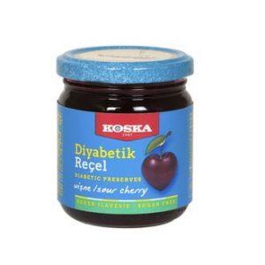 Koska Diabetic Cherry Jam, 8.46oz - 240g