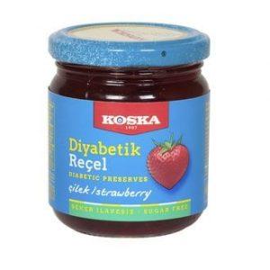 Koska Diabetic Strawberry Jam, 8.46oz - 240g