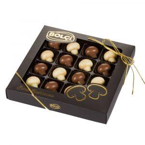 Mushroom Shaped Chocolate, 16 pieces, 240g