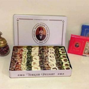 Hafız Mustafa - Mixed Turkish Delight in Tin Box