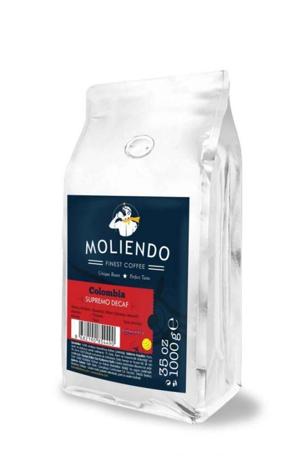 Colombia Supremo Decaf Coffee by Moliendo