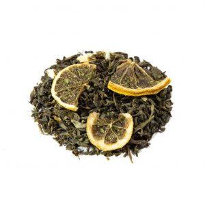Mint Lemon Green Tea, 3.5oz - 100g
