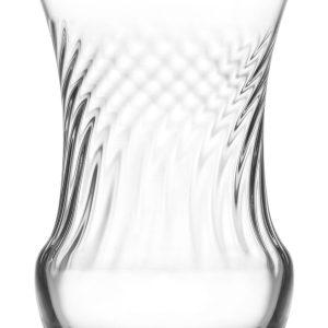 Pearl Style Turkish Tea Glass Set (6 Pcs)