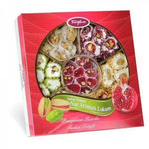 Pistachio Pomegranate Turkish Delight, 15.16oz - 430g