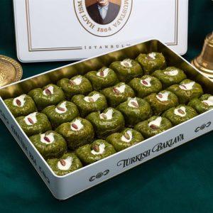 Pistachio Padishah Baklava (L Box)