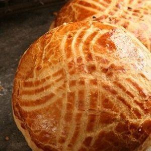 Pogaca – Turkish Savory Pastry Bun (Plain) Pack of 4