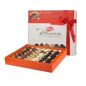 Premium Chocolate with Hazelnuts