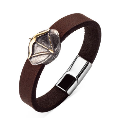 Resurrection Ertuğrul Arrow-Bow Leather Bracelet
