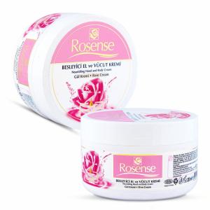Natural Hand & Body Rose Cream