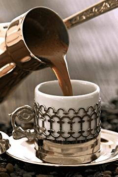 Nuri Toplar Turkish Coffee with Hazelnut Flavour