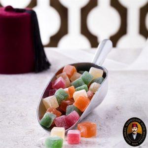 Hafız Mustafa - Turkish Delight with Mixed Fruits, 35.27oz - 1kg