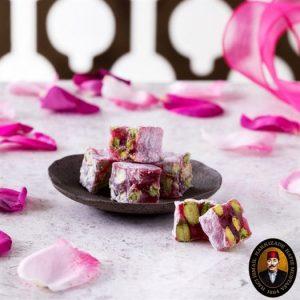 Hafız Mustafa - Turkish Delight with Rose Petals, 35.27oz - 1kg