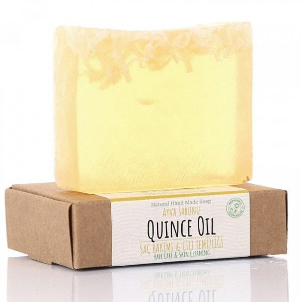 Turkish Natural Handmade Soap Quince Oil