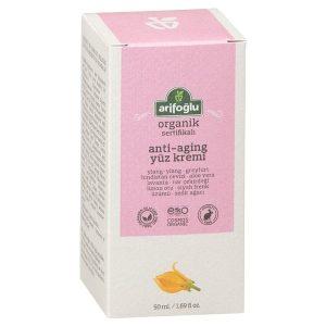Organic Anti-Aging Face Cream