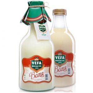 Vefa Turkish Boza Beverage, 33.81oz - 1000ml