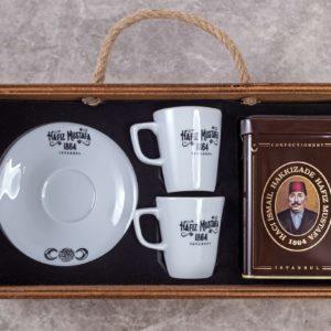 Wooden Box Turkish Coffee  Gift Set