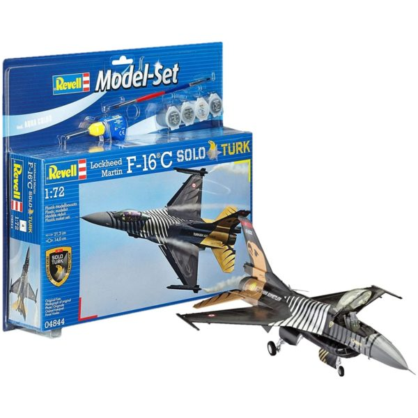 Revell Solo Türk Turkish Air Force TUAF F-16C Model Set Kit 1/72