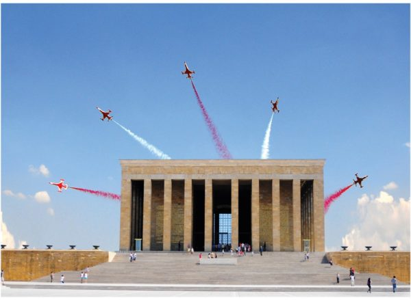 Anıtkabir Mausoleum of Mustafa Kemal Atatürk Jigsaw Puzzle