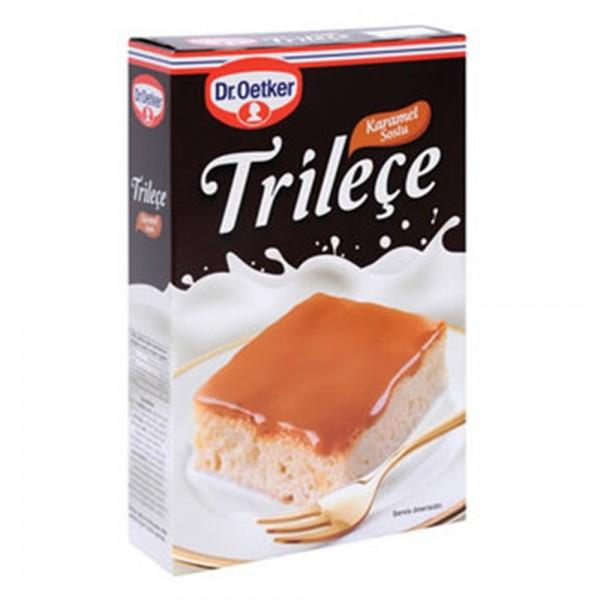 Trileçe with Blackberry Sauce