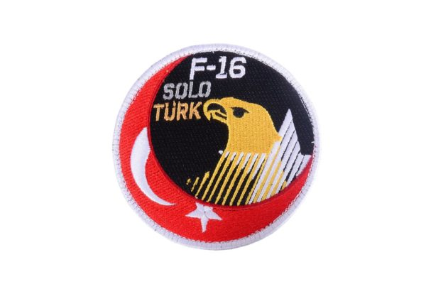 Solo Türk Turkish Air Force Demonstration Team Military Patch