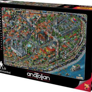 Fractal İstanbul Jigsaw Puzzle