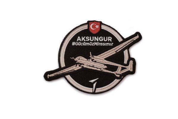 TAI Aksungur Turkish Unmanned Aerial Vehicle Military Patch