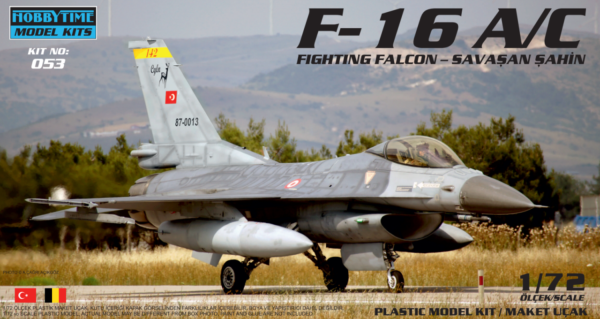 Turkish Air Force TUAF F-16 A/C Fighting Falcon Aircraft 1/72 Model
